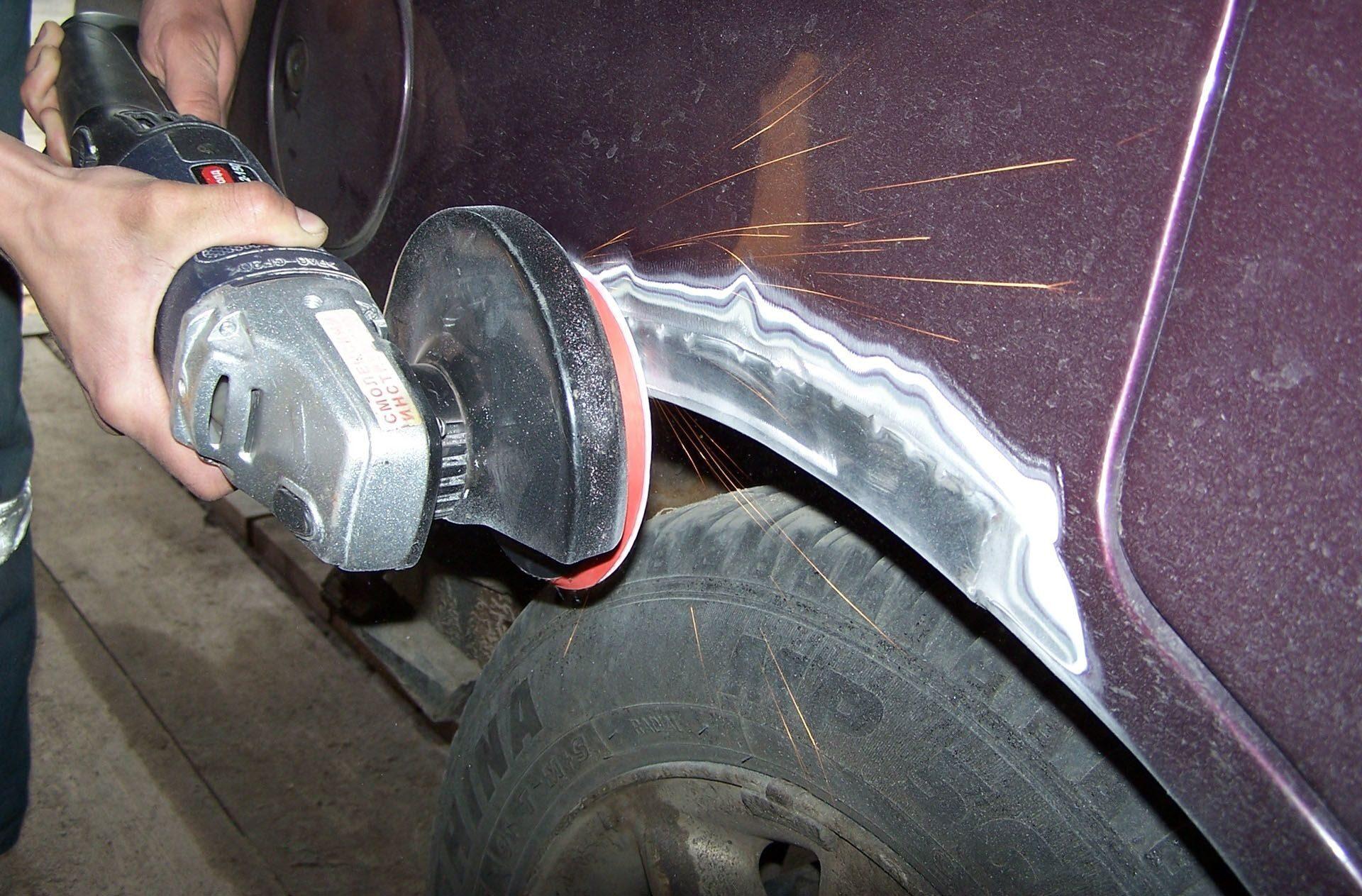 Восстановление ржавого кузова автомобиля